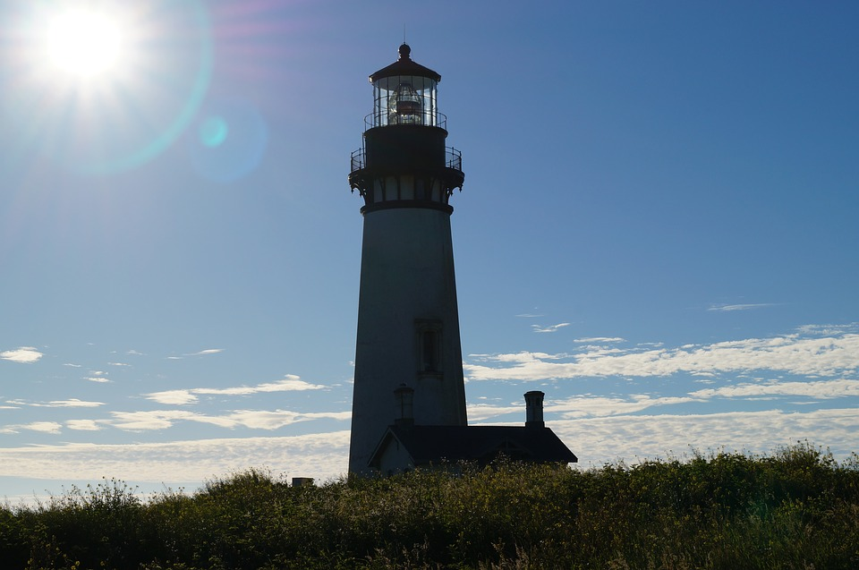 Yaquina Lighthouse Oregon Coast Newport